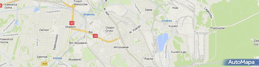 Zdjęcie satelitarne Monopolowy - Sklep