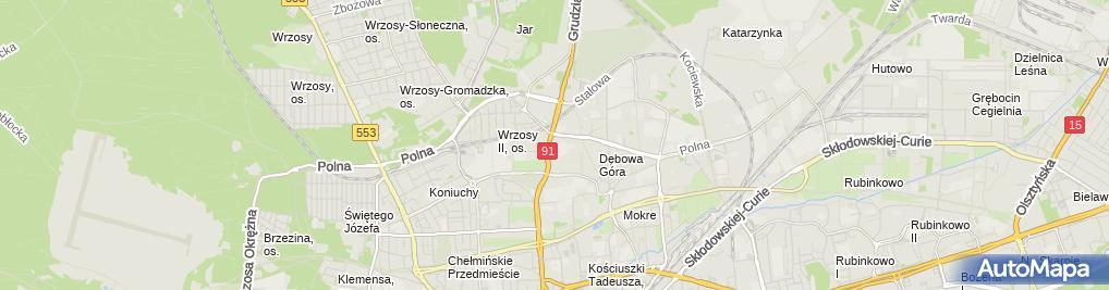 Zdjęcie satelitarne Fota