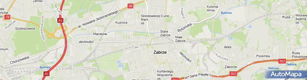 Zdjęcie satelitarne Alemotocykl.pl - sklep z akcesoriami motocyklowymi