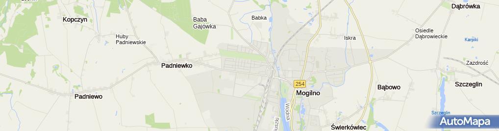 Zdjęcie satelitarne Auto-Mog