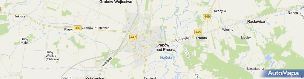 Zdjęcie satelitarne Motoryzacyjny - Sklep