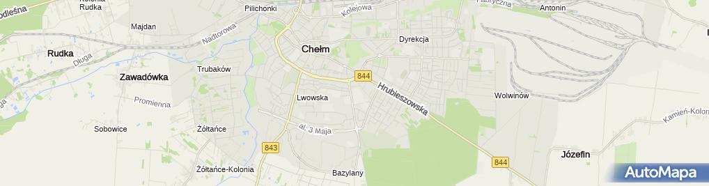 Zdjęcie satelitarne 8 Ball Cross Gym
