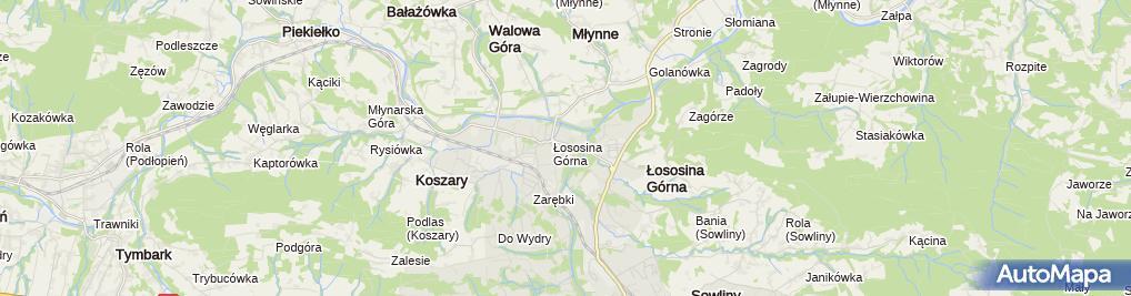 Zdjęcie satelitarne Fabryka Mocy