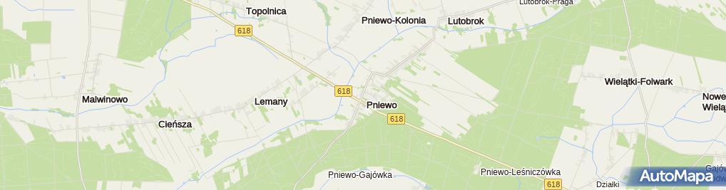 Zdjęcie satelitarne Kuźnia Kurpiowska