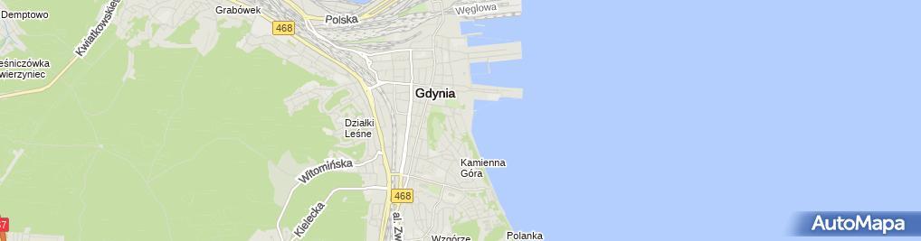 Zdjęcie satelitarne Marynarki Wojennej