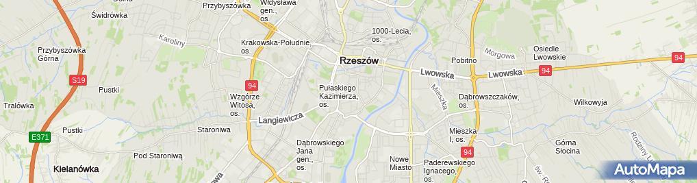 Zdjęcie satelitarne Muzeum Okręgowe