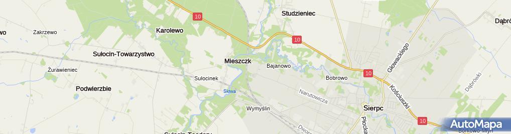 Zdjęcie satelitarne Skansen - muzeum wsi mazowieckiej