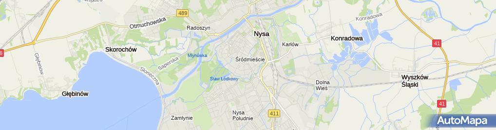Zdjęcie satelitarne Musik Shop