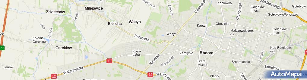 Zdjęcie satelitarne RON Wacyn