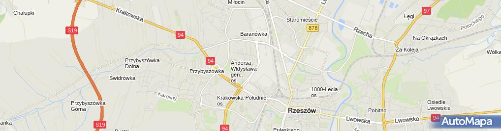Zdjęcie satelitarne Nadajnik TV