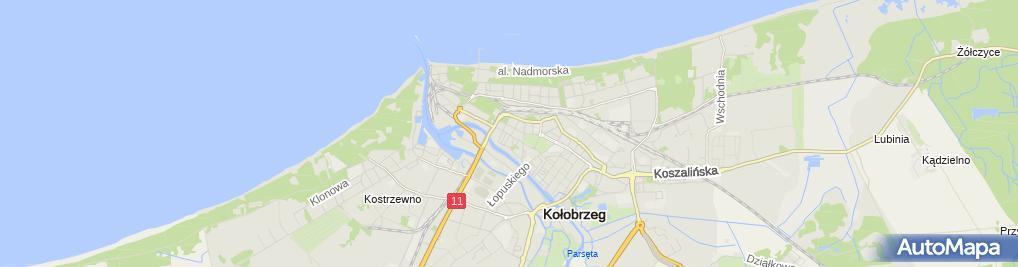 Zdjęcie satelitarne neoBANK - Oddział