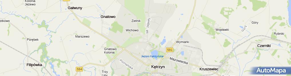 Zdjęcie satelitarne Netto - Supermarket