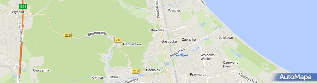 Zdjęcie satelitarne NZOZ SKIM