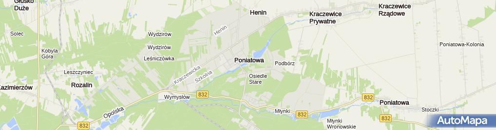 Zdjęcie satelitarne Piłka Plażowa