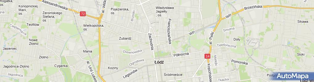 Zdjęcie satelitarne Daniel Sklep Andrzej Damięcki Wiesława Damięcka