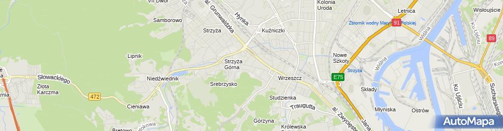 Zdjęcie satelitarne Klasyczne Buty - Zbigniew Famuła