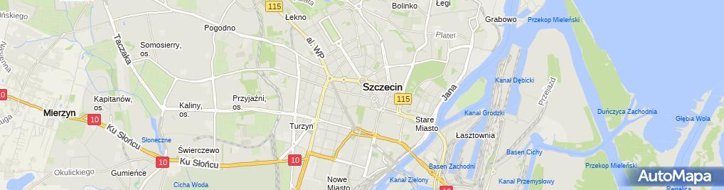Zdjęcie satelitarne MKC Shoses