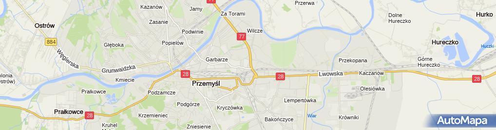 Zdjęcie satelitarne PPUH Kieryk Wiesław