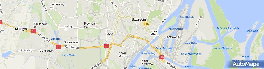 Zdjęcie satelitarne Sklep Autoryzowany Puma Zagrodny Kuczer Grzegorz i Jolanta