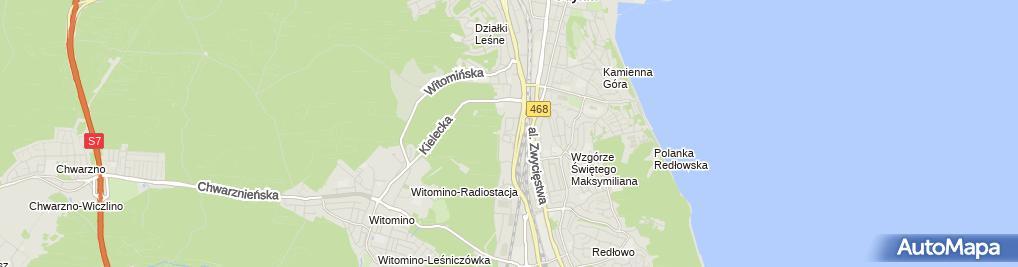 Zdjęcie satelitarne OCHNIK - Sklep odzieżowy