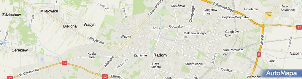Zdjęcie satelitarne Związek Kynologiczny
