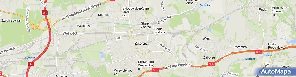 Zdjęcie satelitarne Koszulki z nadrukiem - Noszecochce.pl