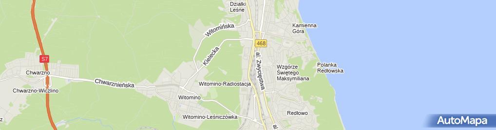 Zdjęcie satelitarne Kubenz
