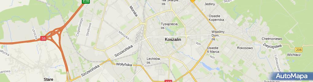 910f93406c Zdjęcie satelitarne Kubuś - sklep z odzieżą dziecięcą i młodzieżową