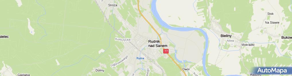 Zdjęcie satelitarne Sklep Odzieżowy Moda