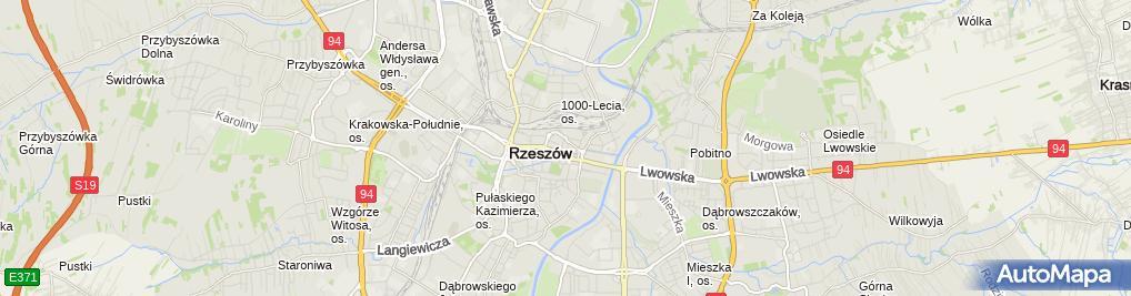 Zdjęcie satelitarne SNC Rzeszów 3