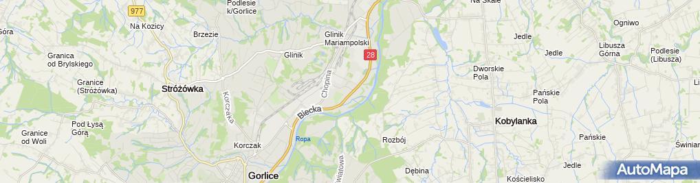 Zdjęcie satelitarne Hurtownia Ogrodnicza OGRÓD