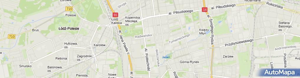 Zdjęcie satelitarne ŁÓDZKI KLUB WYSOKOGÓRSKI