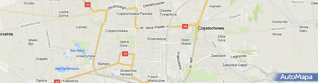 Zdjęcie satelitarne PAN WU Bar