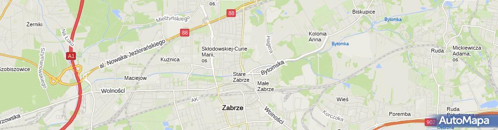 Zdjęcie satelitarne Zenthai
