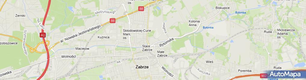 Zdjęcie satelitarne Orsay - Sklep odzieżowy