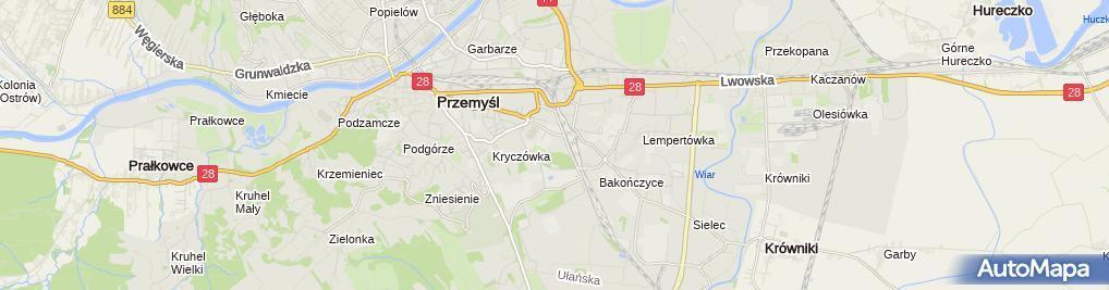 Zdjęcie satelitarne Prajzner Henryk. Ośrodek szkolenia kierowców