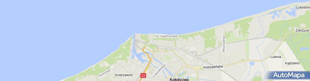 Zdjęcie satelitarne Kielczanka
