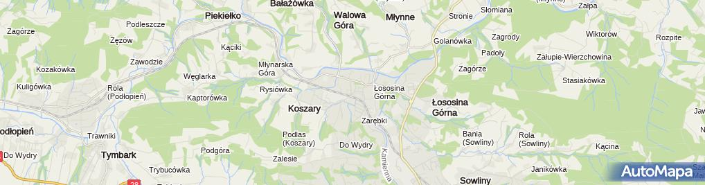Zdjęcie satelitarne Paczkomat InPost LIM05M