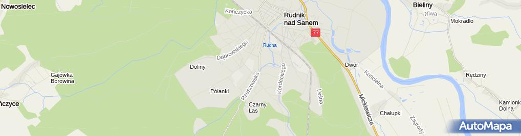 Zdjęcie satelitarne Paczkomat InPost RDK02M