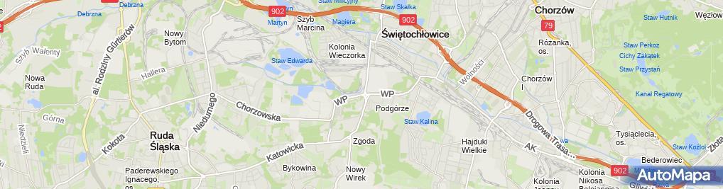 Zdjęcie satelitarne Paczkomat InPost SWC04N