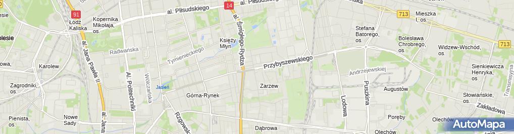Zdjęcie satelitarne Papierniczy - Sklep