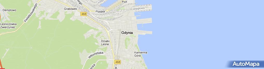 Zdjęcie satelitarne Park Rady Europy