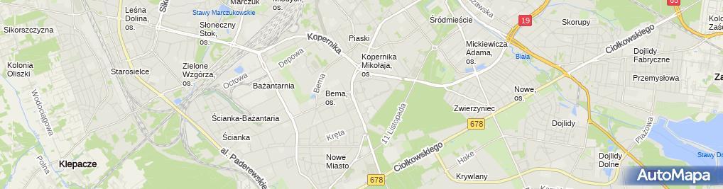 Zdjęcie satelitarne Pekao SA - Bankomat