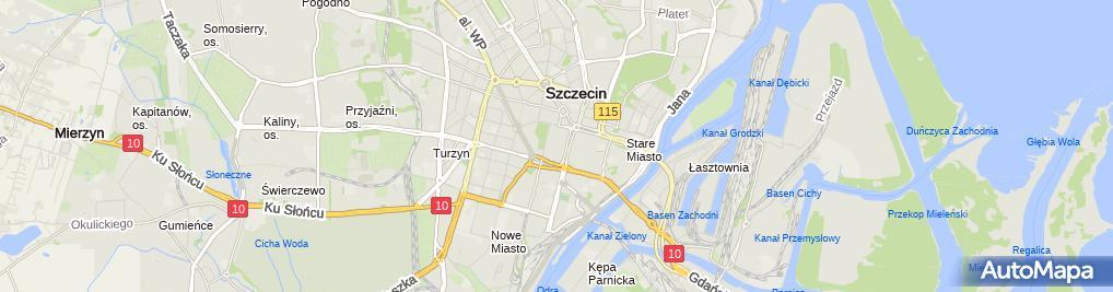 Zdjęcie satelitarne Pekao SA - Oddział
