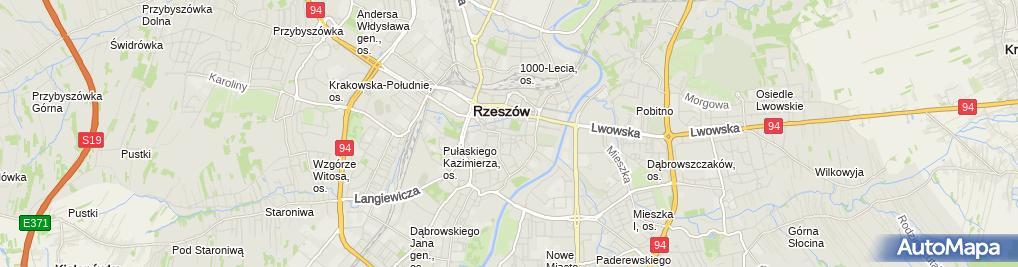 Zdjęcie satelitarne Dom Polonii
