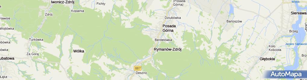 Zdjęcie satelitarne SZAJNA SPA