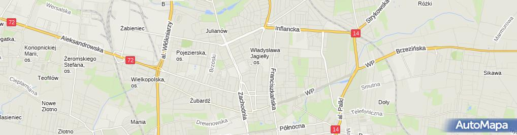 Zdjęcie satelitarne Pepco - Sklep odzieżowy
