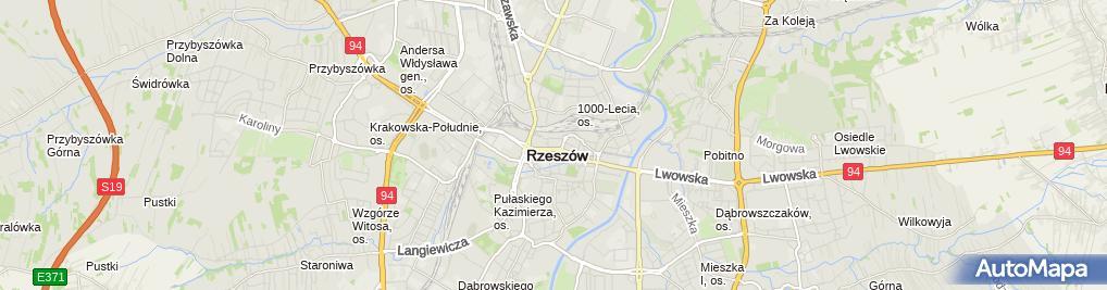 Zdjęcie satelitarne Wispol