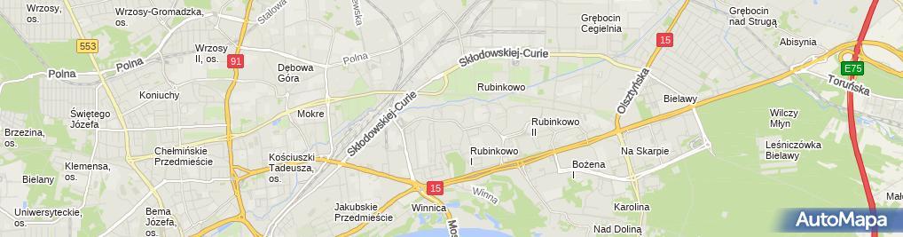 Zdjęcie satelitarne Piekarnia Bartkowscy - Piekarnia