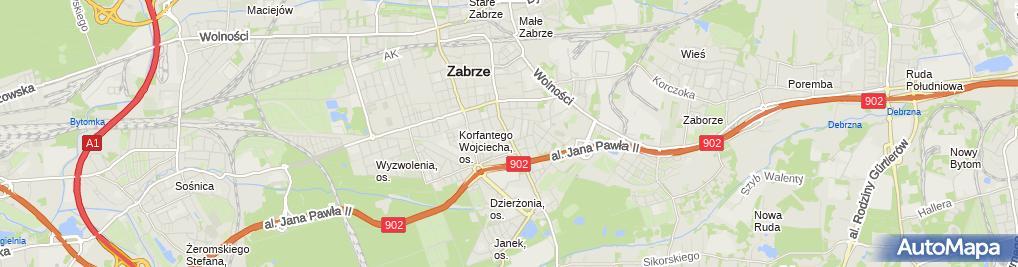 Zdjęcie satelitarne Piekarnia Bochen - Piekarnia